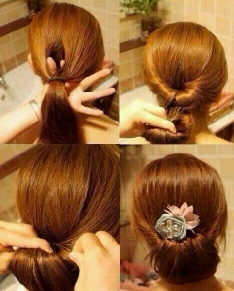 Fantastic Ponies Hairstyles And Buns On Pinterest Short Hairstyles Gunalazisus