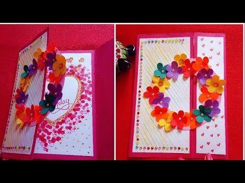 Beautiful Handmade Birthday Card Diy Birthday Card Greeting