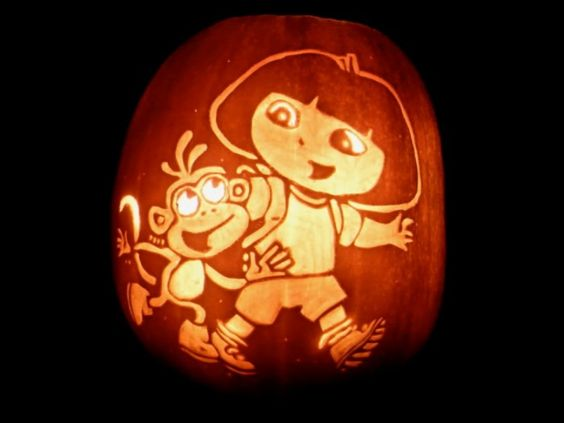 cool top 60 creative pumpkin carving ideas for a happy halloween accessories dora - Cool Happy Halloween Pictures