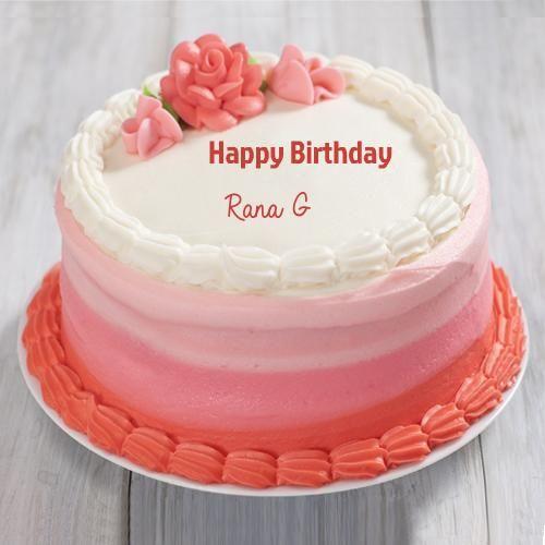Incredible Write Name On Double Layer Cheese Opera Birthday Cake Birthday Personalised Birthday Cards Fashionlily Jamesorg