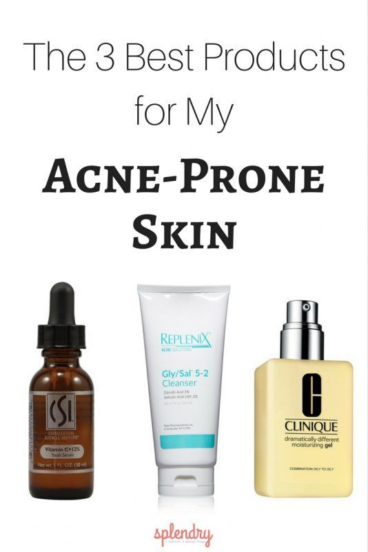 The 3 Best Products For My Acne Prone Skin Acne Prone Skin