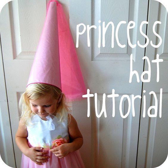 Make a princess hat.