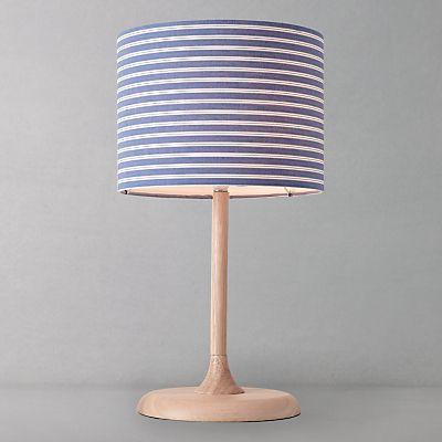 Buy John Lewis Alina Table Lamp, Blue online at JohnLewis.com - John Lewis