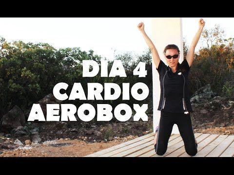 Cardio intenso para quemar - día 4 Aerobox - YouTube