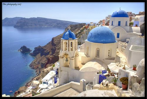I'm pretty sure this is what Nirvana looks like...although I think it's technically called Santorini, Greece.