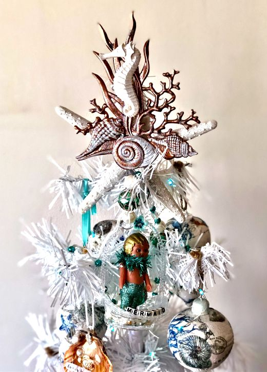 Coastal Christmas Tree Topper Ideas Christmas Tree Toppers Coastal Christmas Tree Coastal Christmas