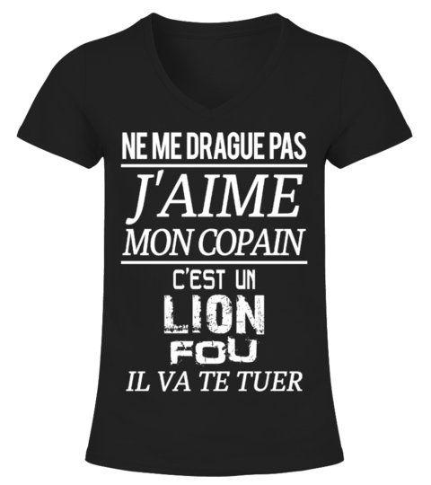 Lion Jaime Mon Copain Shirts Girlfriendshirts Girlfriend Shirts Wife Shirt Girlfriend Tshirts
