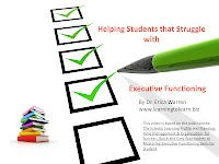 Helping Students with Executive Functioning Issues to Develop Organizational, Time Management, and Planning Skills for Success  -  Pinned by @PediaStaff – Please Visit http://ht.ly/63sNt for all our pediatric therapy pins