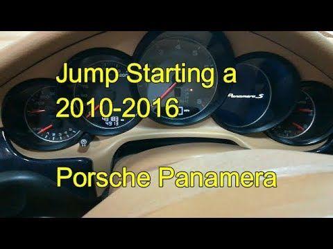 How To Jump Start A Porsche Panamera Safely 2010 2011 2012