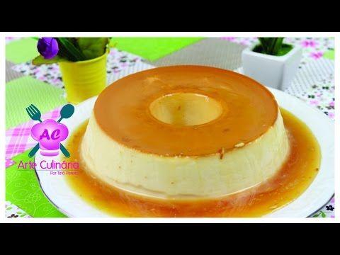 PUDIM DE 2 INGREDIENTES- Receita especial do canal Chef de cozinha - YouTube