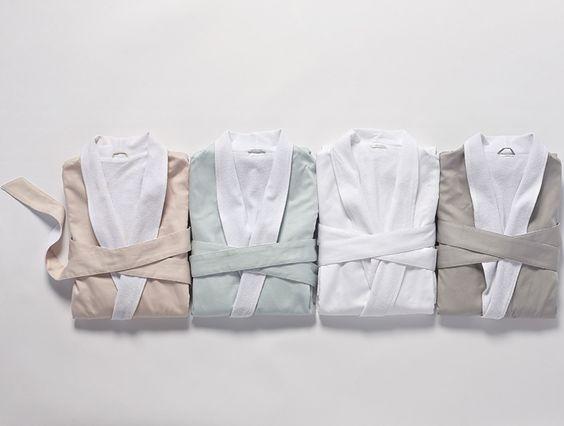 Women's Sateen Terry Robe | Robes | Lounge | Coyuchi