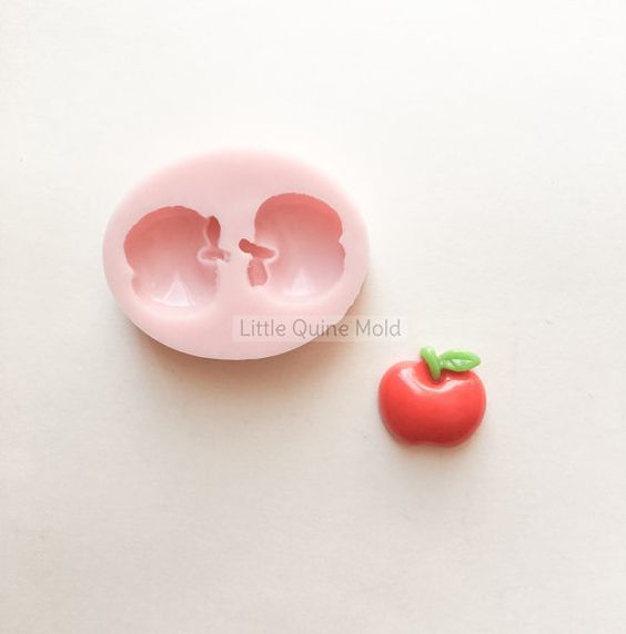 Red apple teacher's appreciation Snow White by LittleQuineMold