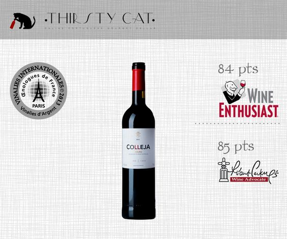 Great Awarded Red Wines under 5€ ! COLLEJA RED 2012 - https://thirstycat.shopk.it/product/colleja