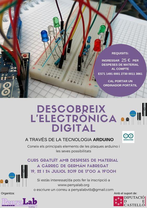 Taller: Descobreix l'electrònica digital a través d'Arduino