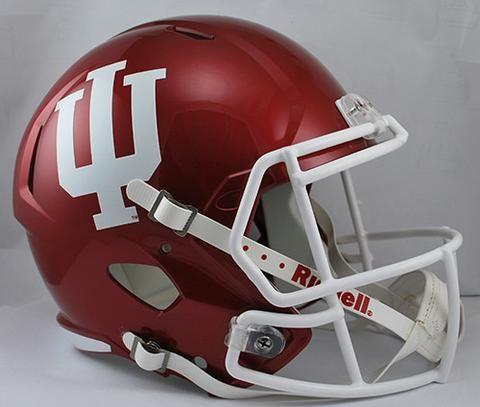 Indiana Hoosiers Deluxe Replica Speed Helmet #IndianaHoosiers