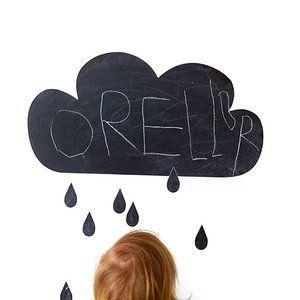 Ferm living cloud griffel paint wallsticker I www.modelmini.se