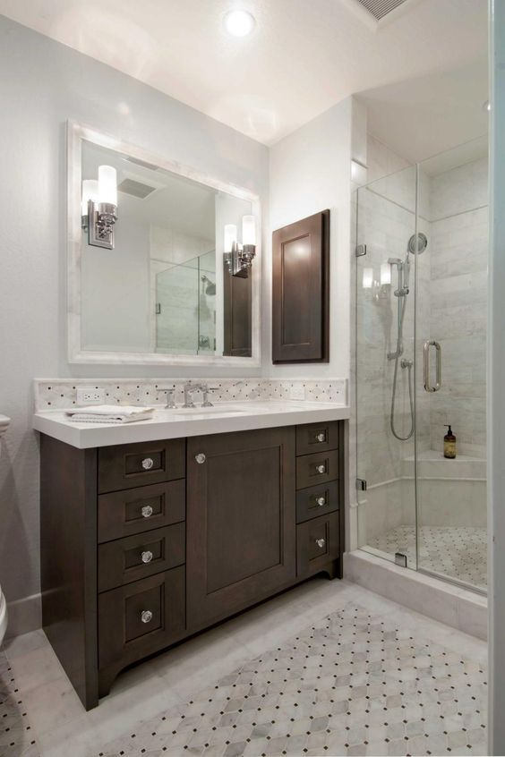 Pin By Lynda Maloney On Bathroom Ideas Wood Bathroom Vanity