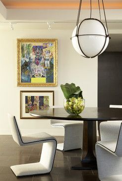 Plaza Towers Condo Renovation - modern - dining room - atlanta - Niki Papadopoulos