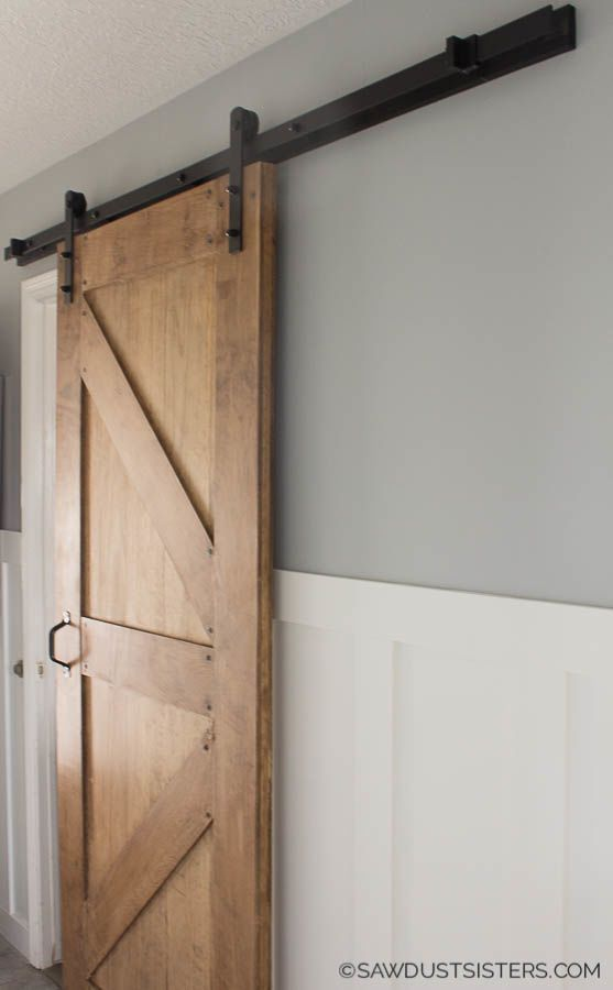 Installing Barn Door Hardware In 5 Easy Steps In 2020 Barn Door Hardware Barn Door Installation Barn Door