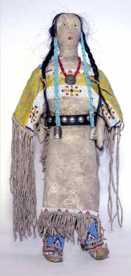 Кукла, Сиу. Коллекция Fenn. Период 1850-1900. Splendid Heritage.