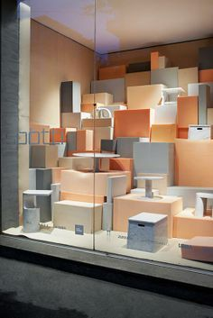 Window Visual Merchandising | VM | Window Display | Foam - studiopepe