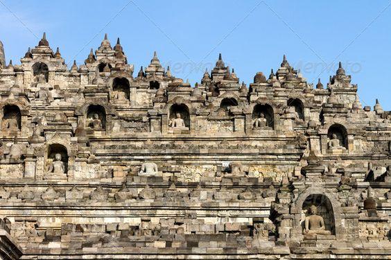 Borobudur temple compounds, Yogyakarta, Java island, Indonesia ...  ancient, architecture, asia, borobudur, buddha, buddhism, buddhist, heritage, historical, indonesia, java, jogjakarta, landmark, monument, pyramid, religious, ruin, sculpture, statue, stone, stupa, sunrise, temple, yogyakarta