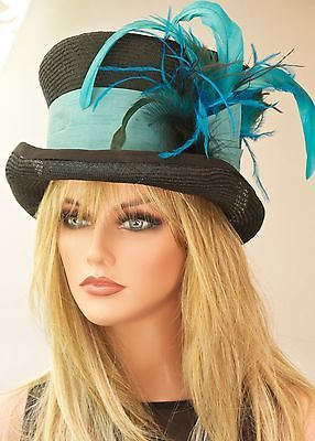 Ladies Top Hats for Sale  New. Ladies Womens Formal Hat Dress ...