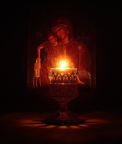 Why are Vigil Lamps lit before Icons? | Christianorthodox's Blog