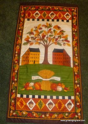 Growing in Grace: Thanksgiving Wall Hanging