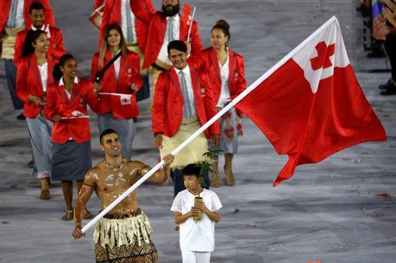 #OpeningCeremonies  #Tongan