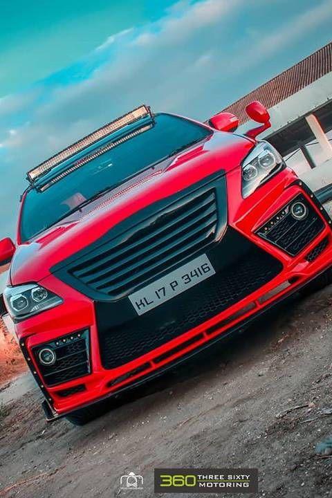 Modified Toyota Innova In Hot Red Colour Modifiedx Toyota Innova Toyota Car Model Innova car full hd wallpaper