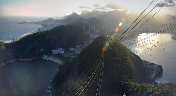 Sugarloaf Mountain (Pão de Açúcar),  Rio de Janeiro, Brazil