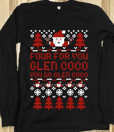 Ugly Sweater- can't help but always quote Mean Girls | Products I ...