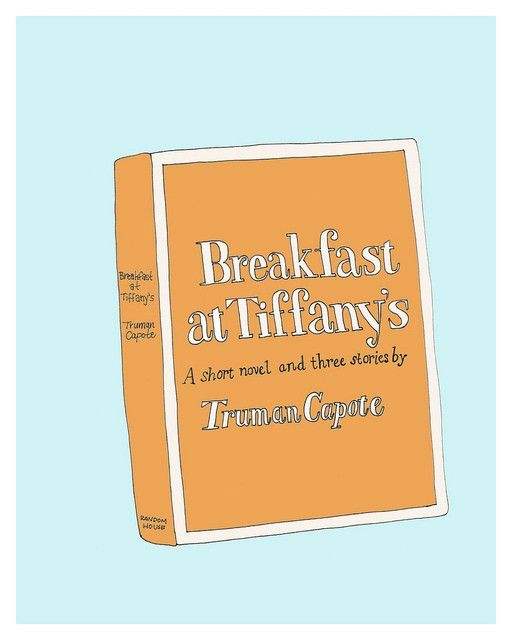 Breakfast at Tiffanys Illustration