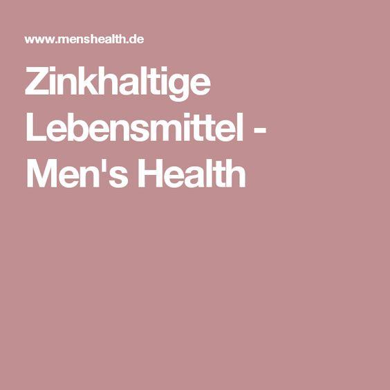 Zinkhaltige Lebensmittel - Men's Health