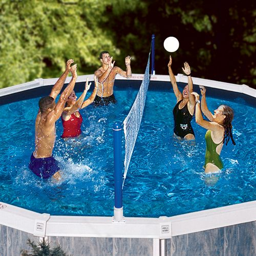 Above Ground Pool Volleyball Set Pool Supplies Pool Volleyball Net Swimming Pool Games Pool Games