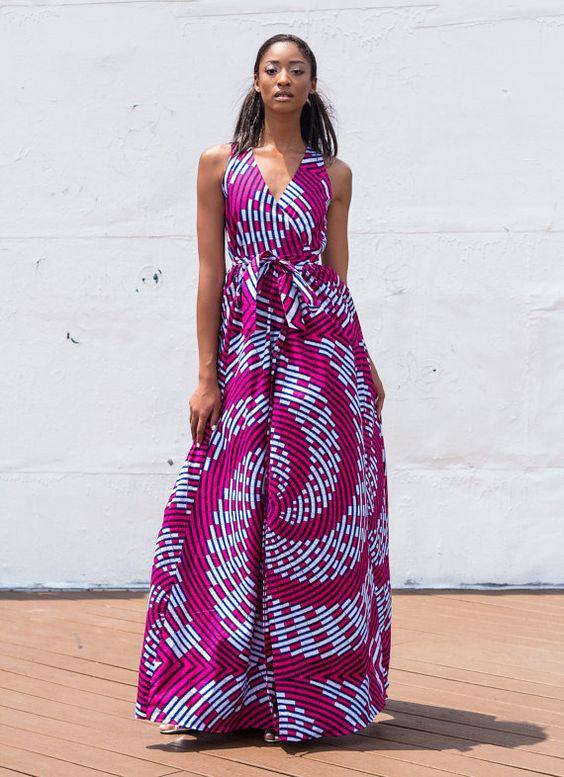 NEW The Diana Maxi Dress ~African fashion, Ankara, kitenge, African women dresses, African prints, Braids, Nigerian wedding, Ghanaian fashion, African wedding ~DKK: