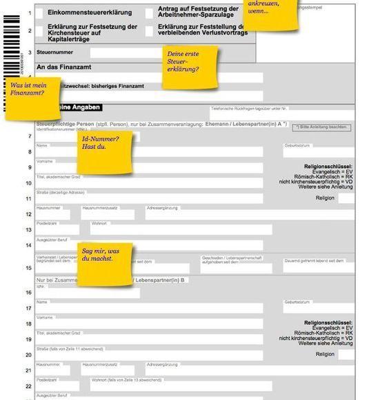 Steuererklärung Nachfragen