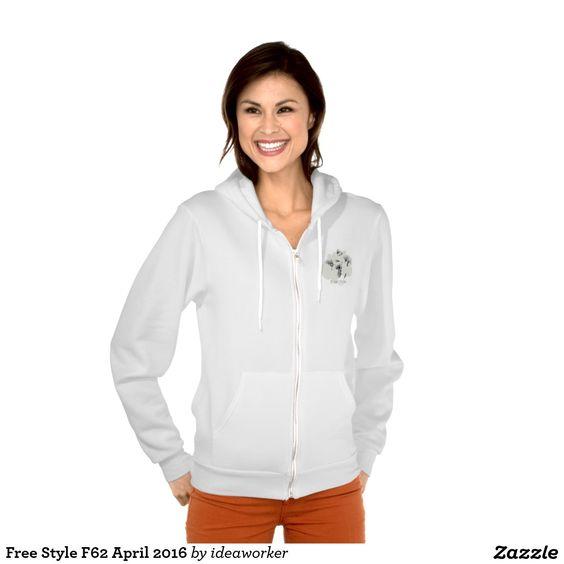Free Style F62 Women's American Apparel Flex Fleece Zip Hoodie   #design #fashion #freestyle #women #hoodiejacket
