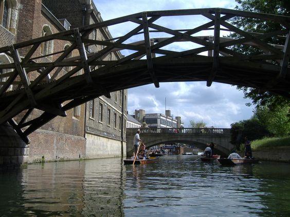 500px / Cambridge Punting 3 Bridge by -eleni-