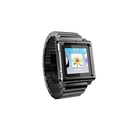 LunaTik Lynk Watch Wrist Strap for iPod Nano 6G - Black