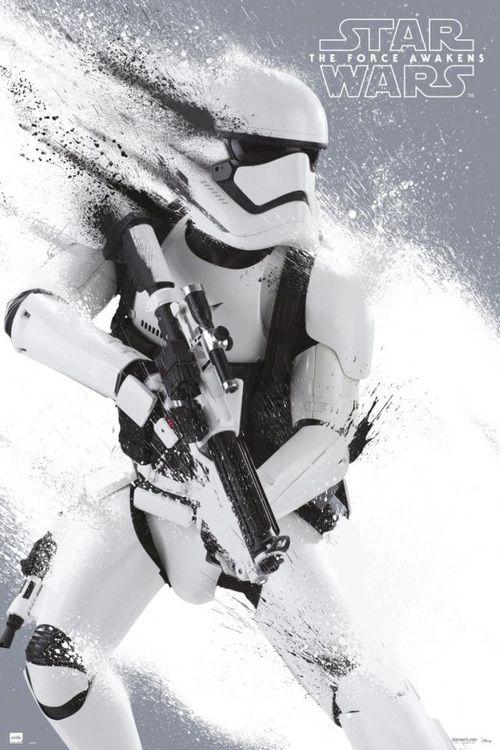 Art poster for the new Star Wars Force Awakens