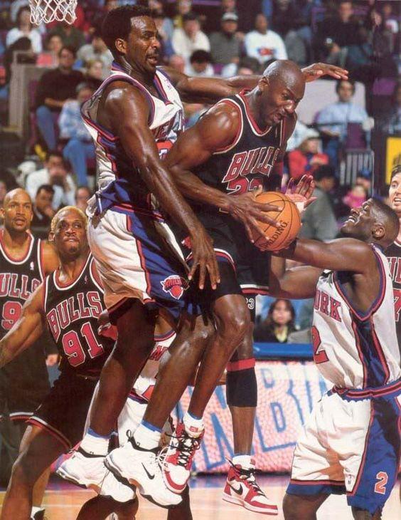 Charles Oakley Michael Jordan
