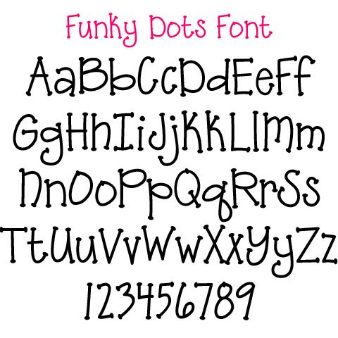 baby shower font applique fonts available through polka dot market