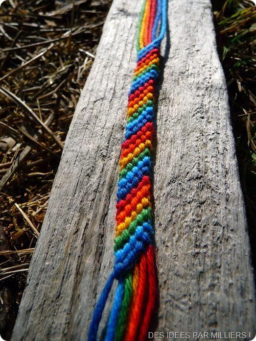 Bracelet brésilien (Des idées par milliers !)