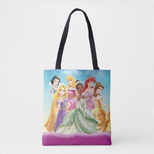 Disney Princess Tiana Featured Center Tote Bag Zazzle Com Disney Princess Gifts Disney Princess Tiana Princess Tiana