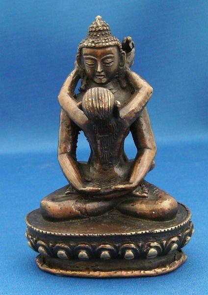 Buddha Shakti Bronze Statue Heavier Small Bronze Yab Yum Statue