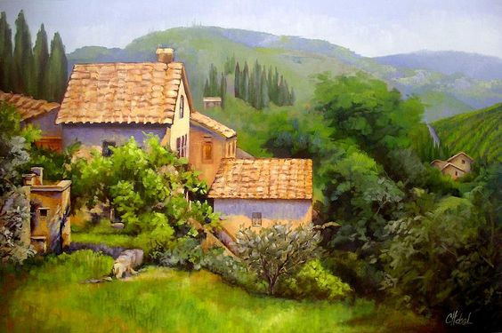 tuscan-village-memories-chris-hobel.jpg (900×599)