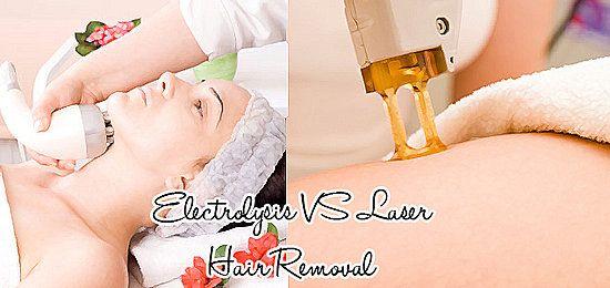 Laser Vs Electrolysis Hair Removal