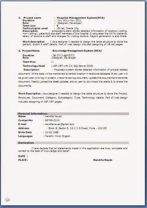 M Tech Resume Format Resume Format Job Resume Format Resume Format Resume Format In Word